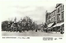 Warwickshire Postcard - Old Birmingham - Five Ways c1900  - 2280