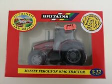MASSEY FERGUSON 6140 TRACTOR Diecast Britains BNIB 1:32 Scale Model - Sealed