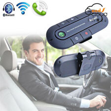 Bluetooth Slim Magnetic Handsfree In Car Phone Kit Wireless Speaker Visor Clip