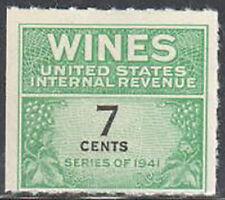 Sc#Re119 - 7c - Internal Revenue Cordial & Wine Stamp Ngai Mnh #3