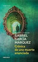 Cronica de una muerte anunciada / Chronicle of a Death Foretold, Paperback by...