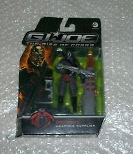 2008 Hasbro GI G.I. Joe The Rise of Cobra DESTRO Weapons Supplier MoC Euro card