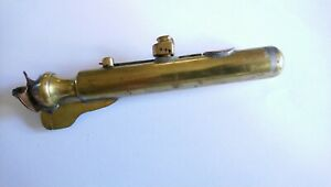 Lovely WW1 Submarine Trench Art Lighter.
