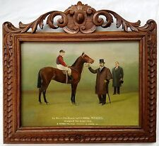 Charles Munnings (UK) O/B 1909 Epsom Derby Winner Minoru w/ King Edward VII