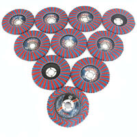4'' Grinding Wheels Flap Discs 100mm Sanding Disc Wood Abrasive Tool With 60Grit