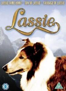 Lassie Collection Lassie Come Home Lassie's Son Courage of Lassie New Reg 4 DVD