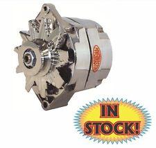 Powermaster GM V-Belt Polished Aluminum 100 Amp Alternator 27294