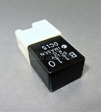 457-Genuine Mazda 4-Pin Multi Use Black Relay B110 DC12V N.O Imasen Japan