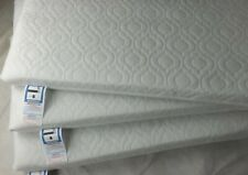 Extra Thick Travel Cot Mattress Fully Breathable Mattress With Quilted Cover/New