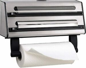 Contura - Triple Roll Dispenser for foil, cling film and paper towel.