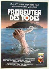 Freibeuter des Todes THE ISLAND Michael Caine - Filmplakat DIN A1 (gerollt)