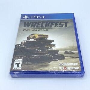Wreckfest Drive Hard Die Last (PlayStation 4, 2018) PS4 NEW SEALED