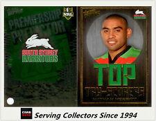 2011 NRL Strike Top Tryscorer TS13 Nathan Merritt (Rabbitohs) + Predictor Card