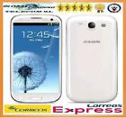 SAMSUNG GALAXY S3 i9300 BLANCO LIBRE SMARTPHONE 16GB TELEFONO MOVIL MARBLE WHITE