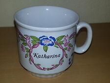 Unbenutzte Kaffeetasse mit Namen++Collection Bavaria Present