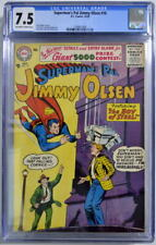 Superman's Pal JIMMY OLSEN 16 CGC 7.5 DC 1956 ONLY 3 Higher Graded