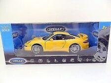 Artículos de automodelismo y aeromodelismo WELLY Porsche de escala 1:18