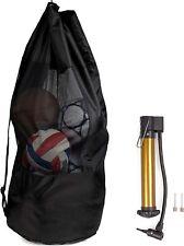 Balltasche Fussball Tasche Fußball für 15 Bälle mit Pumpe Ballnetz Ballsack