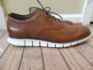 NEW ZEROGRAND by COLE HAAN  MAN'S LEATHER SHOES, Sz. 11