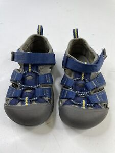 Keen Toddler Baby Size 7 Waterproof Sport Sandals Shoes Hiking Walking Blue