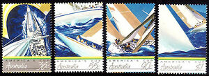 AMERICA'S CUP 1987  Immaculate High Values set of 4. MNH.   • FREE POST •
