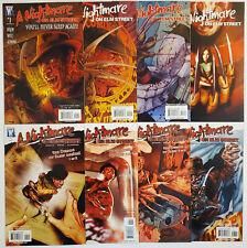 A Nightmare on Elm Street #1-8 (2006, Wildstorm) 2 3 4 5 6 7 Complete Set Freddy