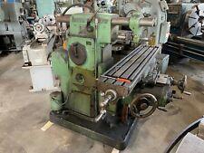 Brown Amp Sharpe 2 Universal Horizontal Milling Machine Universal Vertical Head