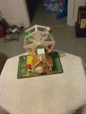 A 1966 Fisher Price  Ferris Wheel All Works