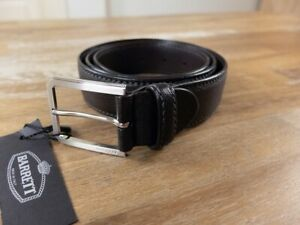 BARRETT brown leather belt authentic Size 95 (fits size 36-37 waist best) - NWT