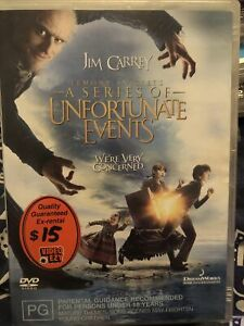 Lemony Snicket's - A Series Of Unfortunate Events DVD