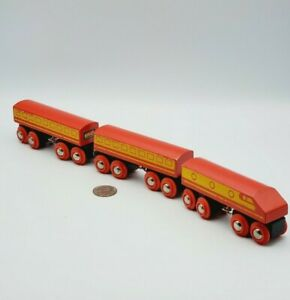 BRIO Red Diesel Trains of World Set 33418 works w Thomas Friends Wooden Railway