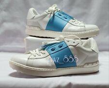 VALENTINO Blue Stripe Sneakers Size 42