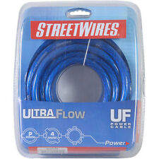 StreetWires UFX420B 4 AWG Power Cable Blue 20 ft.
