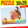 PUZZLE CON FOTO 30x20 PERSONALIZZATO FOTO PUZZLE 180 TASSELLI SPEDIZIONE GRATIS