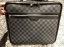 a19ba27c8dfc Louis Vuitton LV STEEVE Graphite Damier Briefcase Messenger Bag