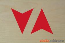 PEGATINA STICKER VINILO Flechas remolque ref 2 autocollant aufkleber arrow