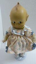 "Kewpie 12"" Doll Rare Limited Ed ""Composition-esque&# 034;, Item #06053110, Cameo, Nib"