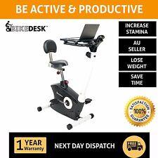 Bike Desk Exercise Work Station: Increase Stamina-Better than Treadmill/Standing