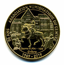 45 ORLEANS 50 ans de l'A.N.C., Jeanne d'Arc, 2019, Monnaie de Paris