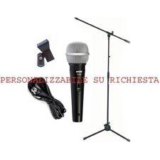 DISCOPIU SV100 KIT MICROFONICO professionale PERSONALIZZAVILE per canto karaoke