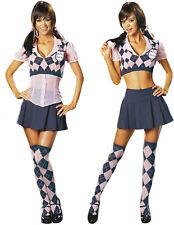 Womens Etiquette Schoolgirl Sexy Adult Costume School Girl Bedroom Size Small