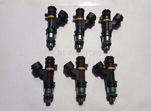 Bosch 0280158042 Flow Matched Set 6 Fuel Injectors Nissan Infiniti 3.5L VQ35D