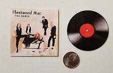 Miniature record albums Barbie Gi Joe 1/6  Figure  Playscale Fleetwood Mac Dance
