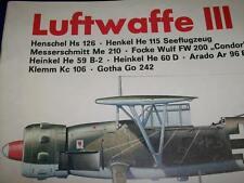Podzun Pallas Waffen-Arsenal Band 22  MIT Poster Luftwaffe III