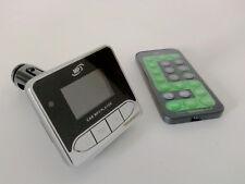 KFZ Transmitter Auto FM Sender MP3 Player mit USB- und SD-Slot