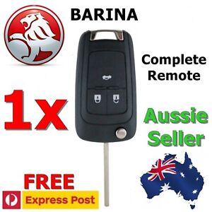 Holden Barina Remote Flip key 2011 2012 2013 2014 Transponder key (fits Cruze)