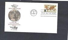 #1274 11c INTL TELECOMMUNICATION FDC WASHINGTON,DC OCT 6-1965-JACKSON CACHET