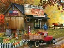 Jigsaw Puzzle Before There Were Malls Feed & Seed Store 300 pieces NEW Made USA