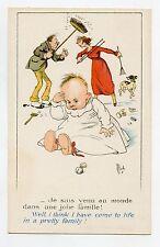 illustrateur MICH . CES COQUINS D'ENFANTS . Chien .Bébé. Baby .  Dog