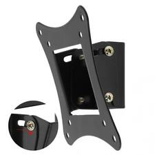 Soporte para montaje en pared de TV Incline 15° para 10-26'' LCD HDTV LED Plasma